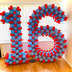 6ft Balloon Numbers