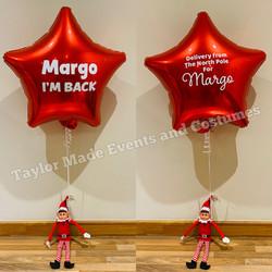 Elf Star Balloons