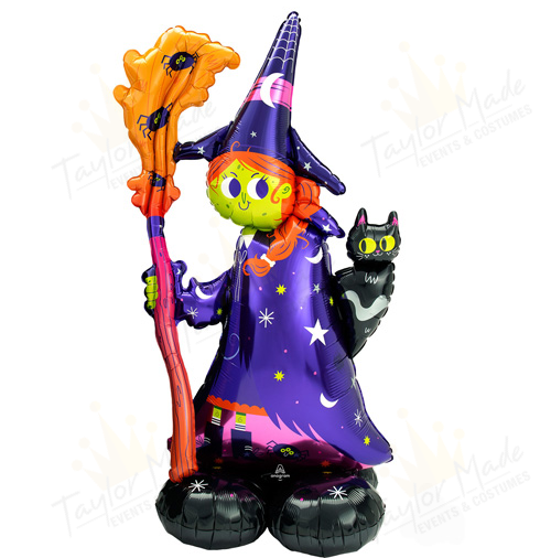 Spooky Witch Balloon