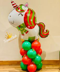 Christmas Unicorn Mini Tower