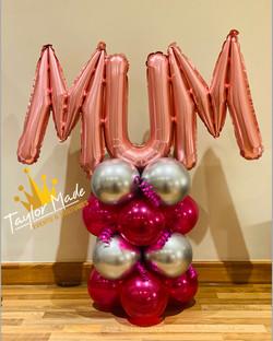 Mum Mini Balloon Tower