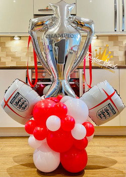 England Crest Trophy Tower