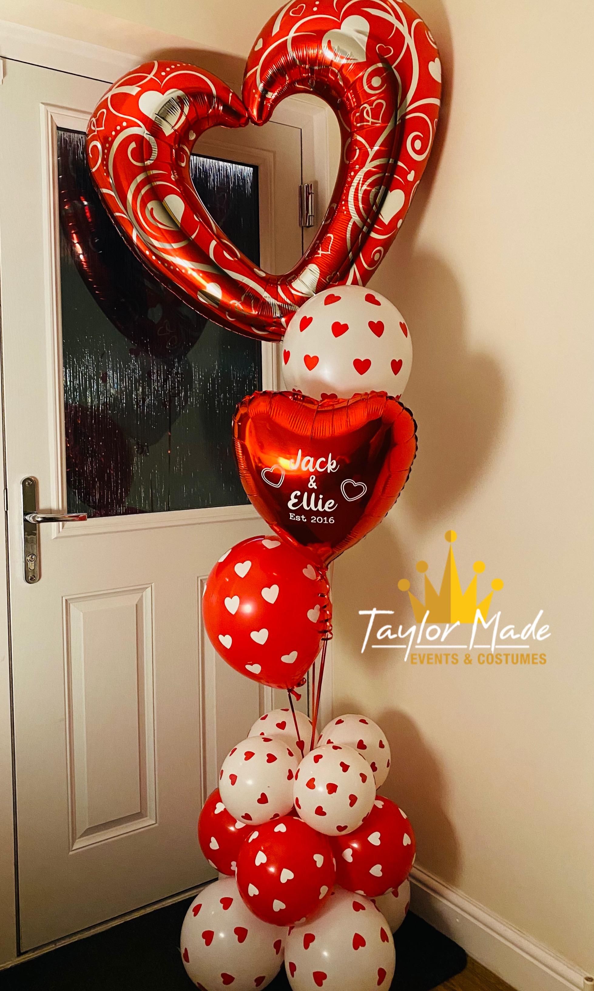 Valentines Large Helium Display