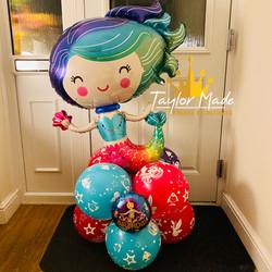 Mermaid Balloon Tower