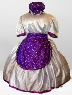 Silver/Purple Glitter