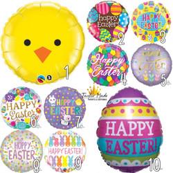 Easter Balloons Range