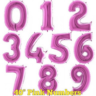 "40"" Pink Numbers"
