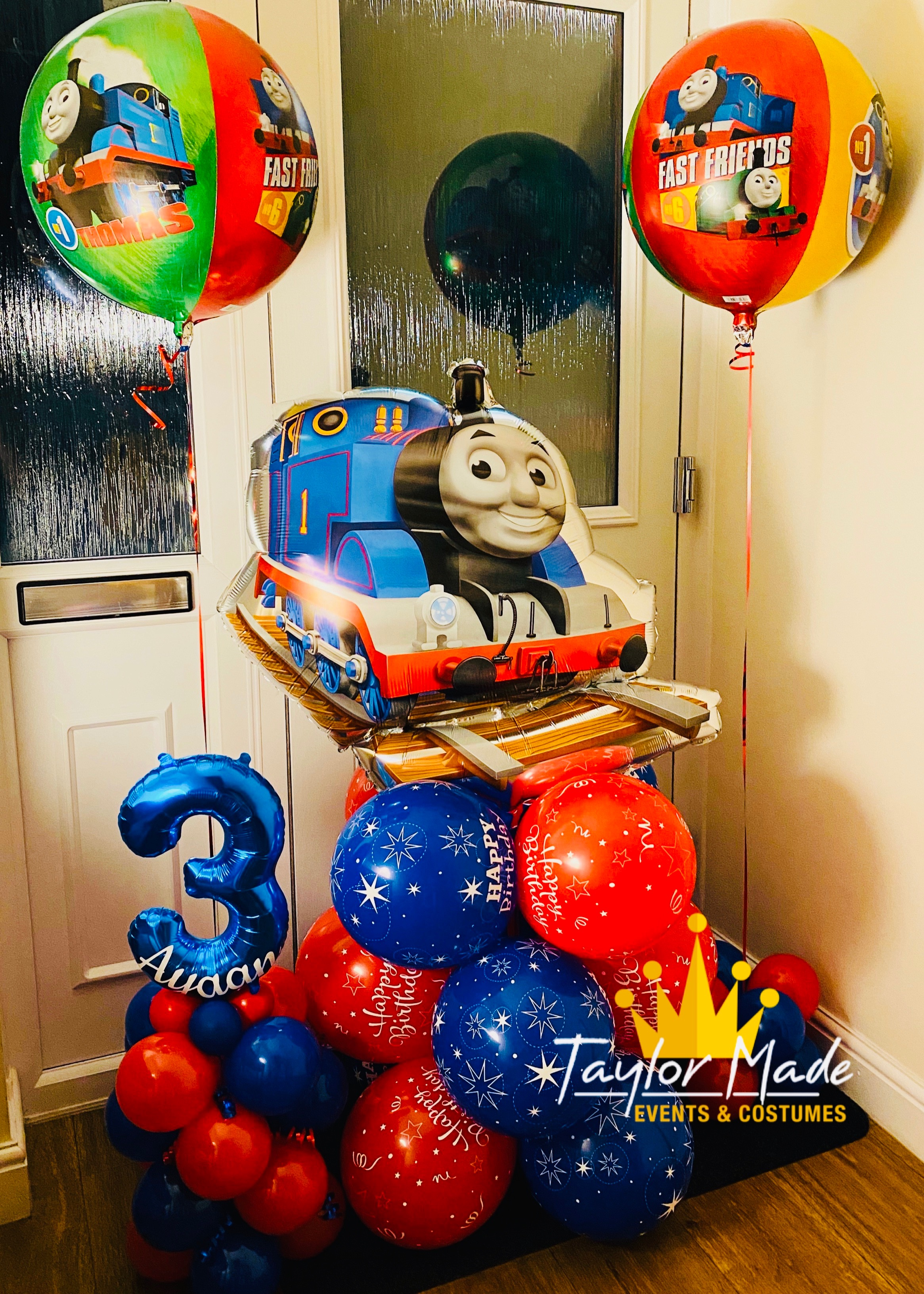 Thomas Birthday Balloons