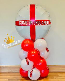 Come on England Balloons