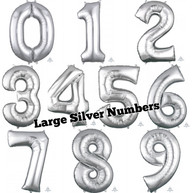 """34""""/35"""" Silver Number"""