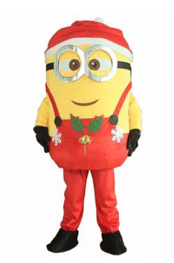 Christmas Helper Mascot