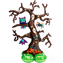 Spooky Balloon Tree