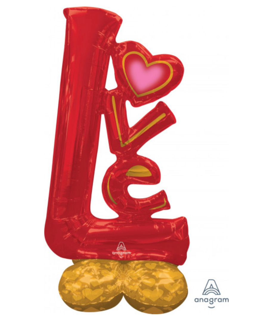Love Red Airloonz Tower
