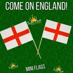 England Mini Flags