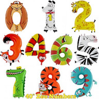 "40"" Animal Numbers"
