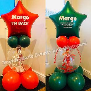 Star Elf Stuffed Balloon