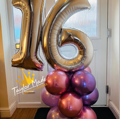 Large Balloon Towers