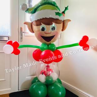 Naughty Elf Balloons