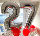 Number Balloons Custer