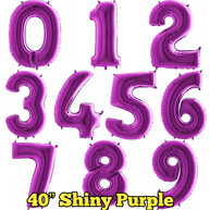 "40"" Purple Numbers"