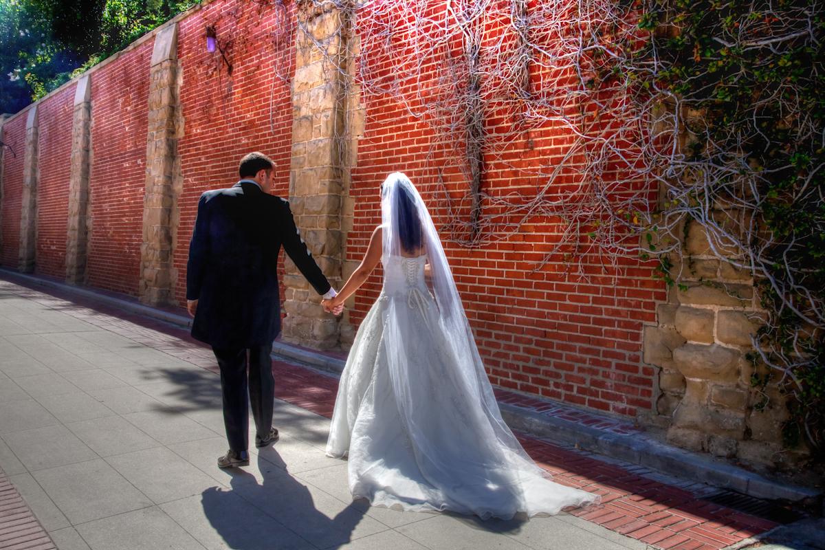 A wedding in Los Angeles