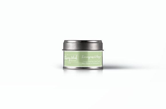 Lemongrass & Ginger Travel Candle