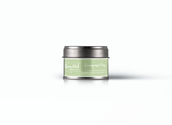 Lemongrass & Ginger Travel Candle