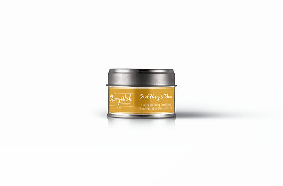 Dark Honey & Tobacco Travel Candle