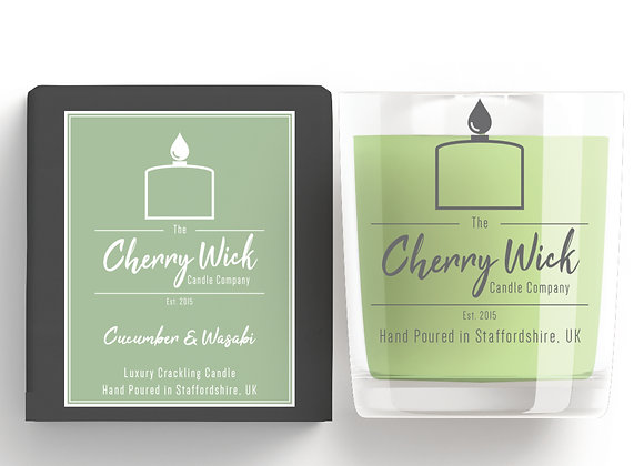 Cucumber & Wasabi 30cl Candle