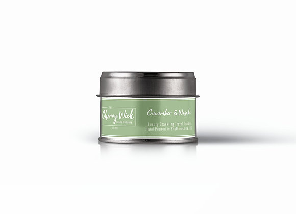 Cucumber & Wasabi Travel Candle