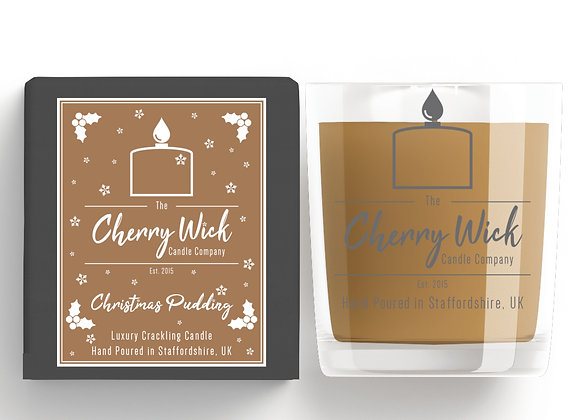 Christmas Pudding 30cl Candle
