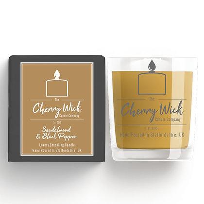 Sandalwood & Black Pepper 30cl Candle