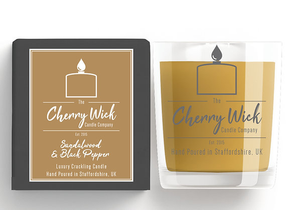 Sandalwood & Black Pepper 30cl Candle