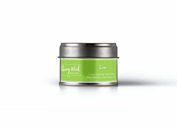 Lime Travel Candle