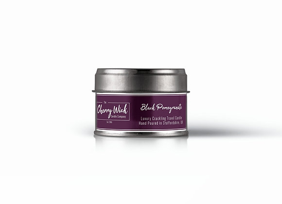 Black Pomegranate Travel Candle