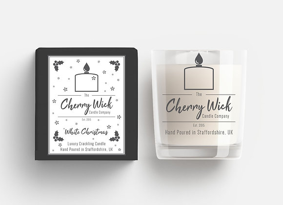 White Christmas 30cl Candle