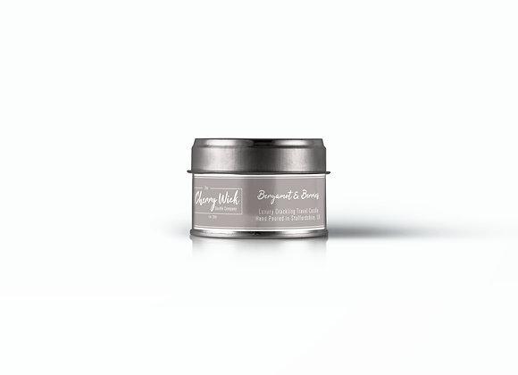 Bergamot & Berries Travel Candle