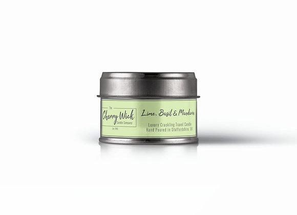 Lime, Basil & Mandarin Travel Candle
