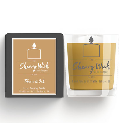 Tobacco & Oak 30cl Candle