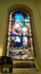 Restauration baie 1 vitraux St Jean de Passy