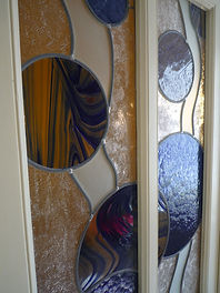 vitrail traditionnel au plomb