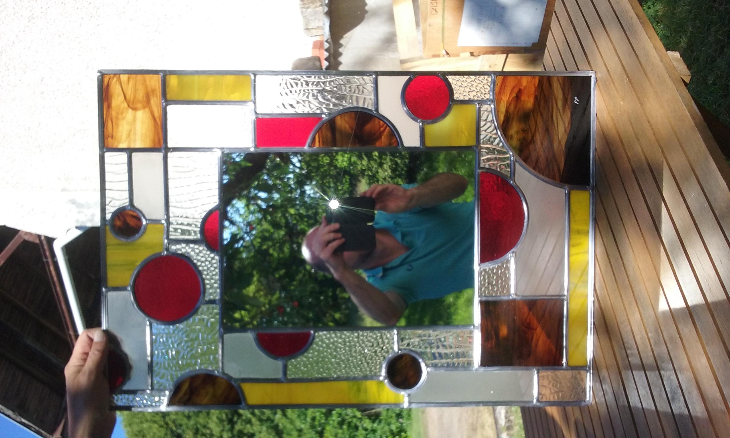 vitrail miroir