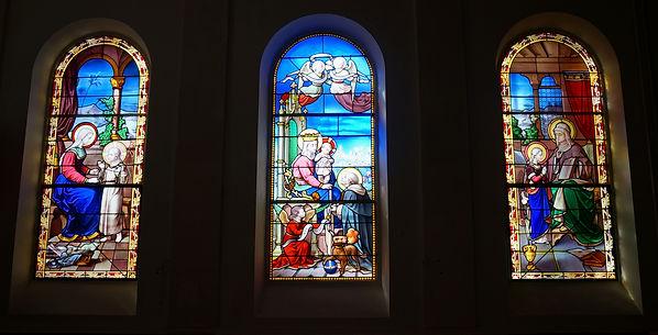 Restauration vitraux chapelle St Jean de Passy