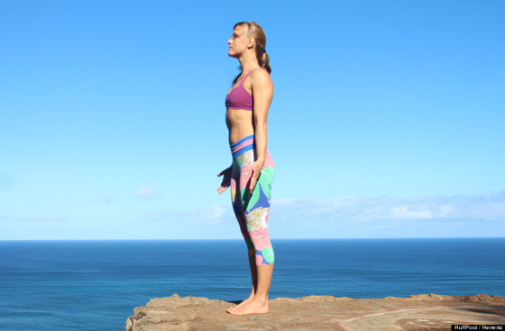 An End with Tadasana: Prose for a Pose Series