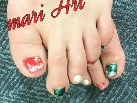 お客様のfoot nail♡