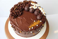 Gluten Free Drippy Bling Cake