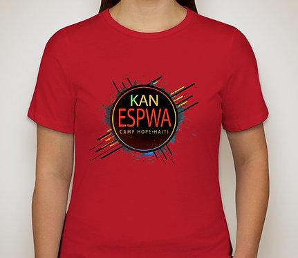 KCIB HAITI t-shirt, ring-spun cotton.  Sizes S-XXXL.  Price includes shipping