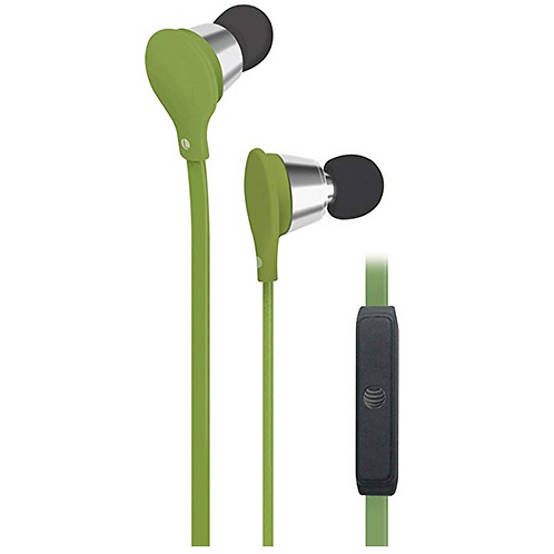 "JIVE ""Music+Calls"" stereo headphones with built-in microphone."