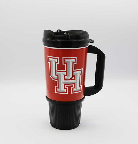 University of Houston 24 oz. insulated tumbler.  Shipping included.