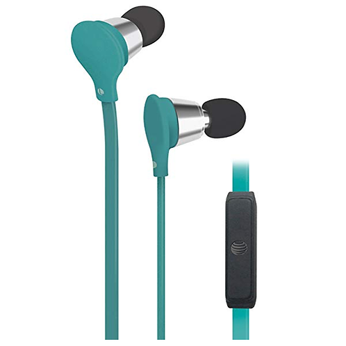 """JIVE """"Music+Calls"""" stereo headphones with built-in microphone."""